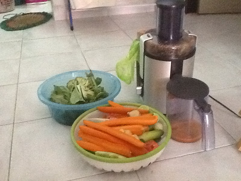 Juice fasting in Thailand