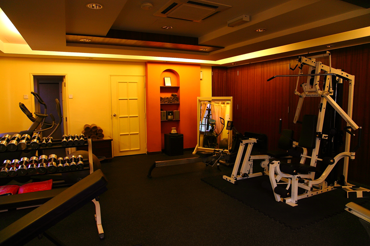 Casa del Mar Gym-Room
