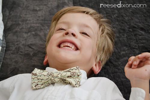 Atti in a bow tie