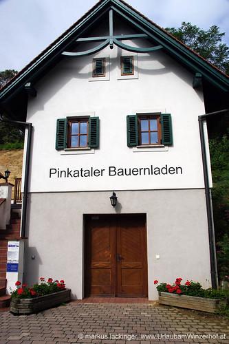 Pinkataler Bauernladen beim Weinmuseum Moschendorf