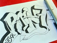 Graffiti Outline