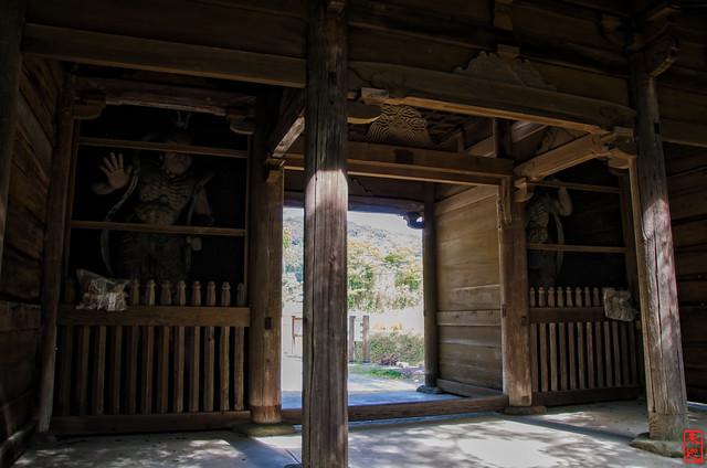 「仁王門」 石峯寺 - 兵庫