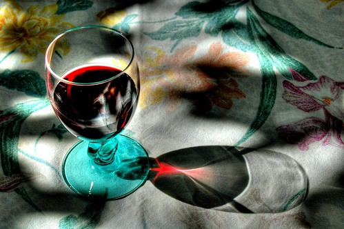 red wine(teroldego) reflections - HDR - 2013