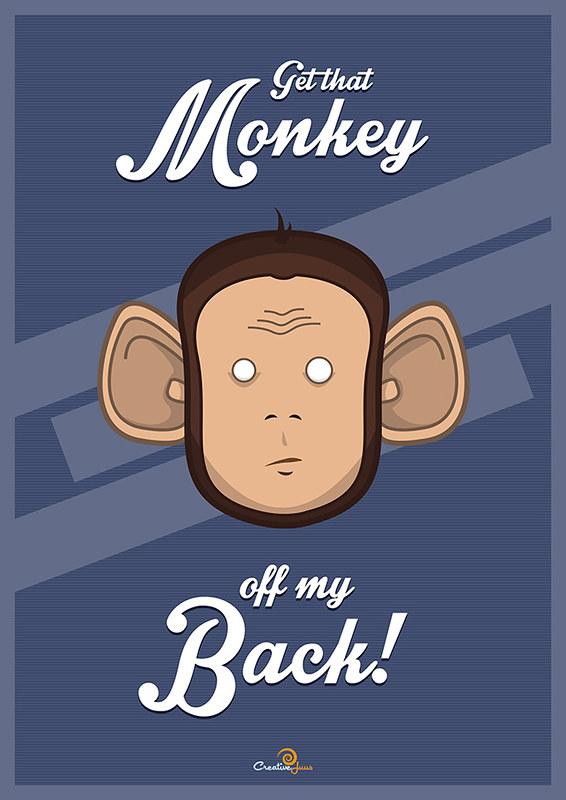 Monkey illustration