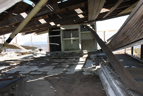 Cuyama Peak Lookout/AWS Cabin Remains No. 4