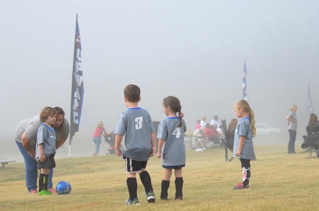 Hudson's 3rd Soccer Game