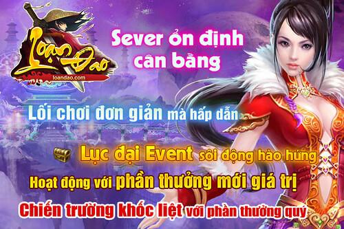 Khai Mở Máy Chủ 8/5 - Nhanh tay giành ngay Acc Vip