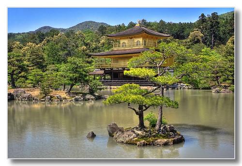 Kyoto J - Kinkaku-ji Temple of the Golden Pavilion 03
