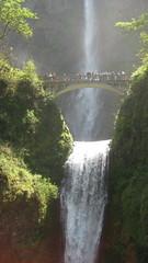 Multnomah Falls, Colombia River Gorge, Portland, Oregon, USA
