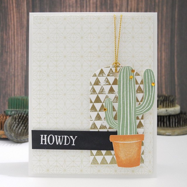 Howdy by @Jennifer Ingle #SimonSaysStamp #HeroArts #DIY #Cards
