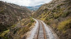 Nariz del Diablo Railroad, Riobamba, Ecuador.