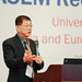 Prof. LEE Sing Kong, Vice-President (Education Strategies), Nanyang Technological University, during the Plenary Session