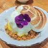 Meyer lemon curd, honey marshmallow, lemon ice cream, chamomile at Odd Duck