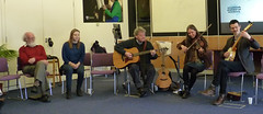 Lazy Boys of Banknock perform at Bus Party event at the University of Stirling, April 2015
