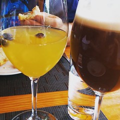 ProTip: get to Murphy's Atlanta Sunday brunch before noon to scope out excellent seating then pre-order your drinks for 12:30 :) Irish Coffee and Mimosas!