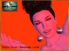 Bliensen - Night Fever - Earrings