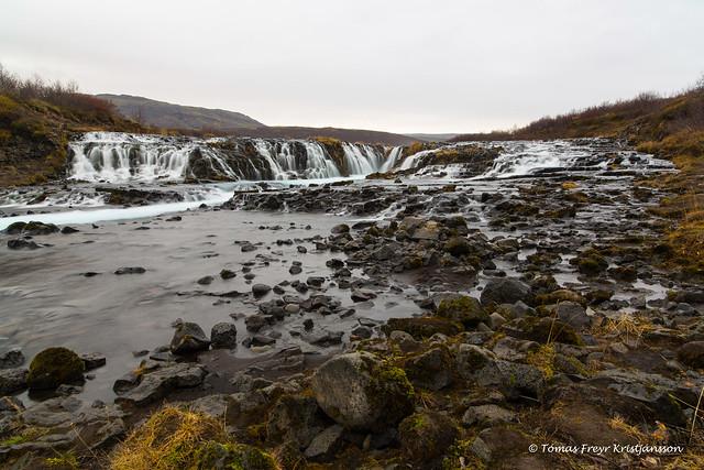 Brúarfoss waterfall 2