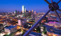 Shot from the Reunion Tower.