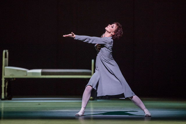 Lauren Cuthbertson as Anna Anderson in Anastasia, The Royal Ballet © 2016 ROH. Photograph by Tristram Kenton