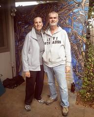 #sherry #kirk #theraineys #denvercolorado #myneighbors #mural #birdsandtrees #scottbradleyferguson #muralart #esoroticmagazineissuetwo #goodenergy