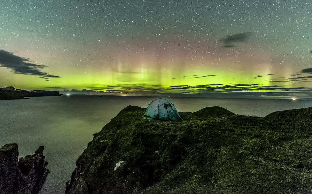 A night with the aurora