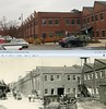 Showers Bros furniture factory Bloomington Indiana today and in 1921