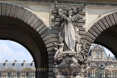 Paris - Palais du Louvre: Guichets Lesdiguières