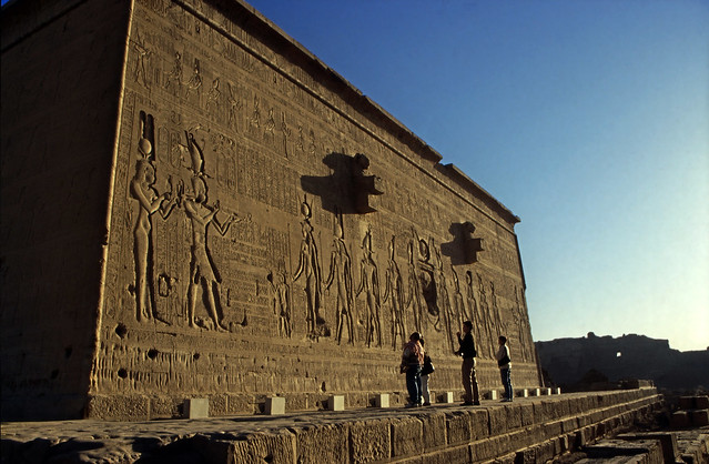 Ägypten 1999 (528) Tempel von Dendera
