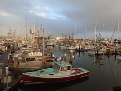 Break in the Rain at Sunset - Ventura Harbor - Olympus Stylus Tough TG-4