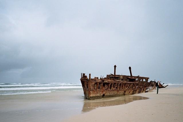 Fraser Island - Fujifilm X-TRA 400 film