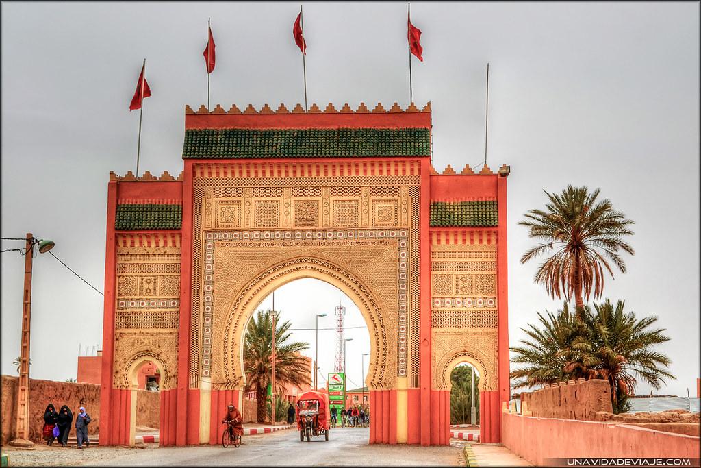 Marruecos sur puerta desierto rissani