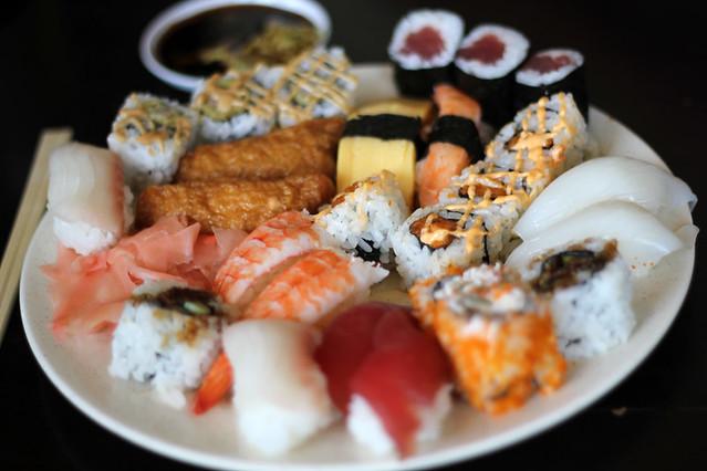 Sushi buffets!