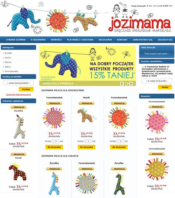Sklep Jozimamy
