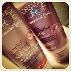Organic Surge skincare products