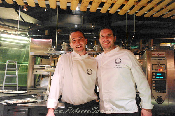 chef florent passard and Chef Nicolas Le Toumelin