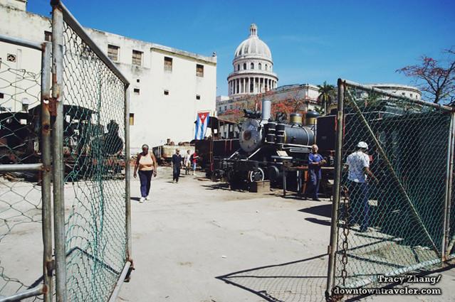 Old Havana Cuba Street Scene 4