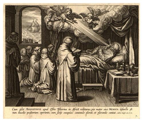 006-Iconographia magni patris Aurelli Augustini…1624-Grabados de Boetius Bolswert- Cortesia de Villanova University