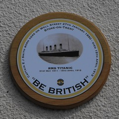 Photo of Edward John Smith blue plaque