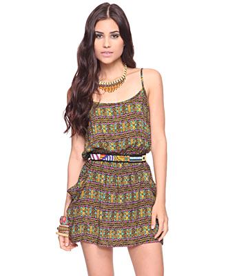 Mayan Print Tunic