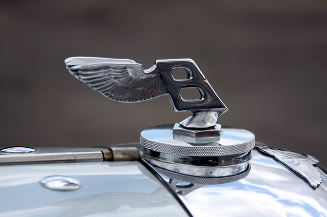 Brooklands Bentley Driving Tests - 1939 Bentley 4.5 Litre Vanden Plas Tourer (FYU 313)