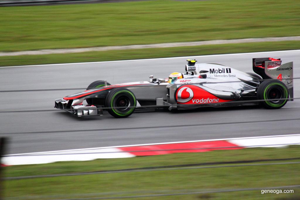 Lewis Hamilton in McLaren-Mercedes