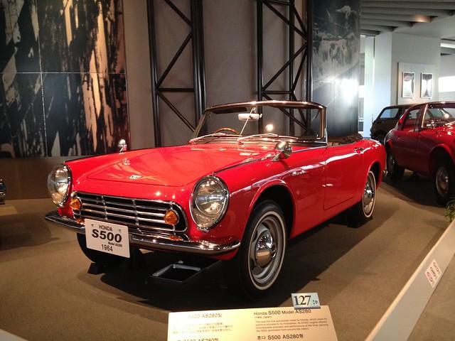 Honda S500 Model AS280, 1964