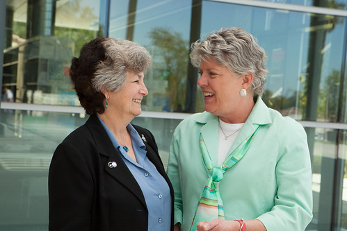 Julia Brownley and Oxnard City Councilmember Carmen Ramirez