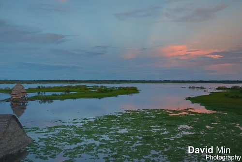Iquitos, Peru - Amazon River @sunset