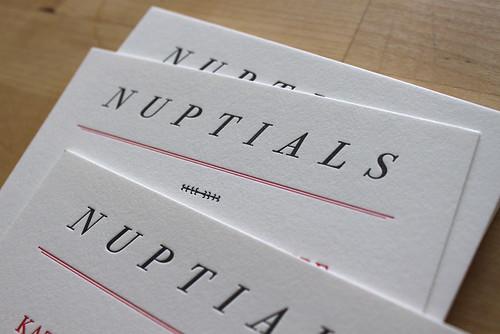 nuptials 3