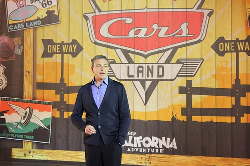Cars Land grand opening