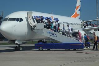 Boarding Smartwings