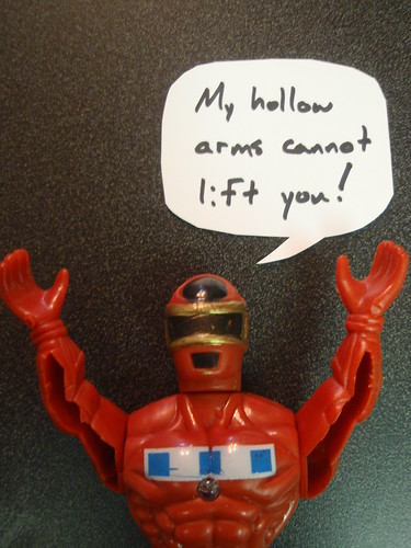 hollow red arms