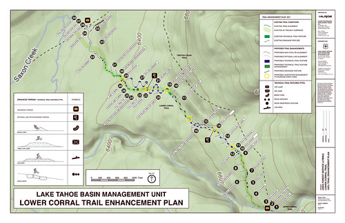 Design Plan for Corral Trail Enhancement