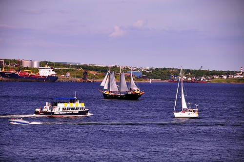 Halifax Harbour from Pier 21